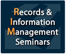 Records and Information Management Seminars logo